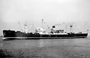Murillo, seen here sometime between 1946 and 1962, was a later name of Empire Galahad.